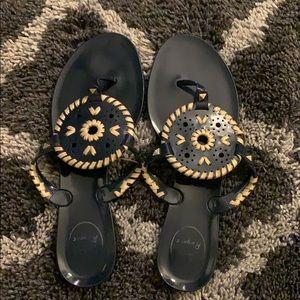 Jack Roger Jelly Flat Sandals